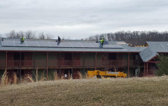 Solar Installation Happening in Maryland