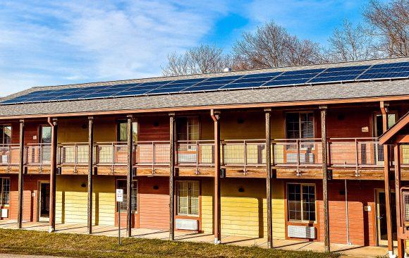 Pearlstone Installs Solar Panels